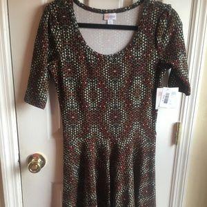 NWT LuLaRoe Medium Nicole Dress